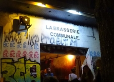 Picture of a self organized pub in Marseille