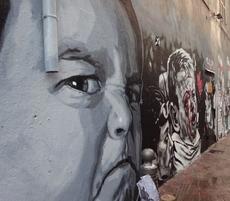 Big furios Head - Graffity in Marseille