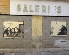 Graffity mit Fernsehzuschauerinnen