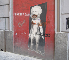 Carlos Marx in Naples