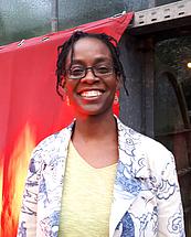 Sharon Dodua Otoo fotografiert von Annette Lennartz